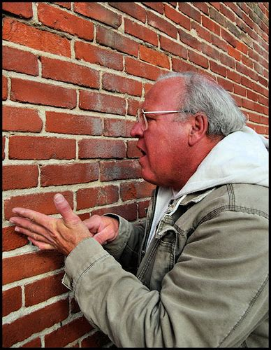 Image result for talking to a brick wall