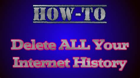 how to clear history korea facts how to delete all of your history cookies and