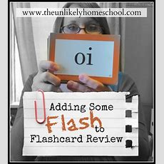 The Unlikely Homeschool Adding Some Flash To Flashcard Review I Spy