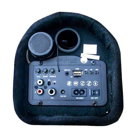 Speaker bluetooth advance music box kotak musik pemutar mp3 player basrp270.000: Speaker Advance T101 BT, Desain Unik Fitur Maksi