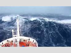 SHIPS IN STORM Horrible FOOTAGE New 2017 YouTube