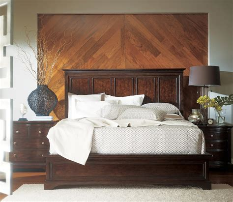 Stanley Furniture Transitional Portfolio Panel Bedroom Set
