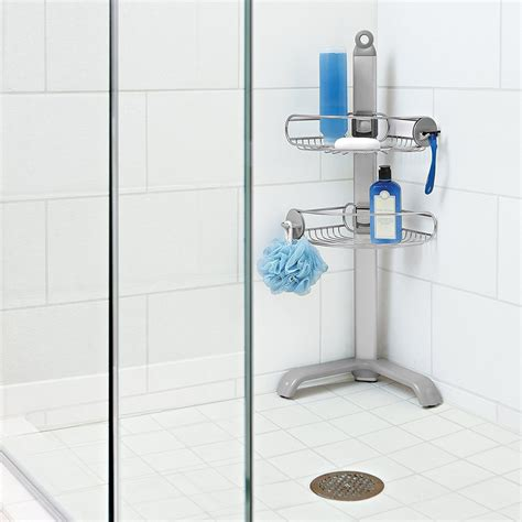 Bathroom Simple Design Free Standing Shower Caddy For