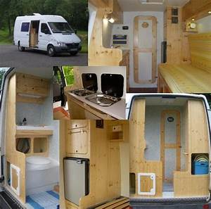 Amenagement De Camion : amenager un fourgon en camping car ~ Melissatoandfro.com Idées de Décoration