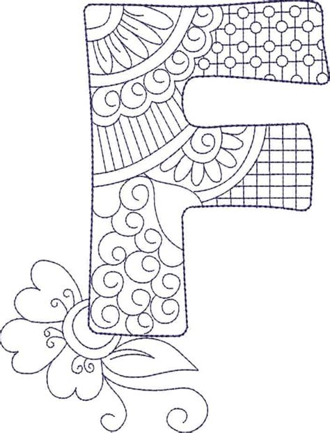 zendoodle alphabet cd gina reddin designs
