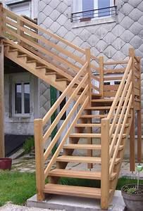 Escalier Extérieur En Bois : rampe escalier exterieur fashion designs ~ Dailycaller-alerts.com Idées de Décoration