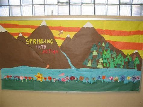 mountain theme bulletin board for any time of the year 460 | e07cc4a53b372fa4f0b911673b6ed381