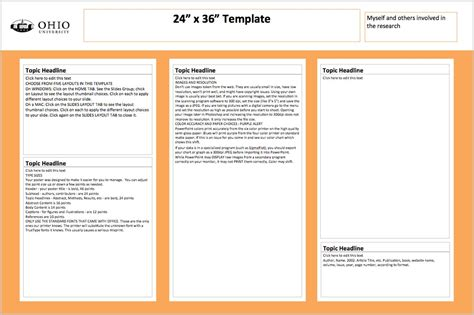 Powerpoint Poster Templates 24x36 by 24 X 36 Poster Template Invitation Template