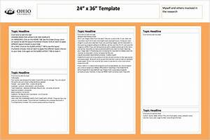 24 x 36 poster template invitation template With powerpoint poster template 24x36