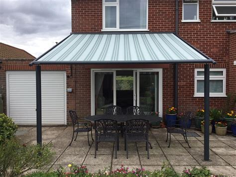 standing awnings  domestic  commercial application