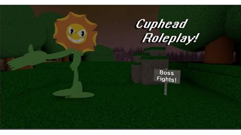 cuphead roleplay boss fights coming  roblox