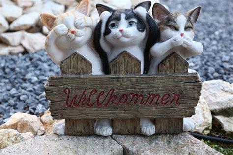Deko Garten Eingang by Willkommen Schild Willkommensschild S 252 223 E Tiere Wetterfest