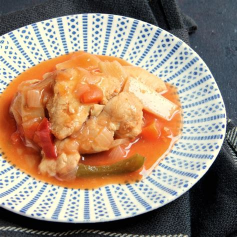 cuisine wok poulet plat cuisiné protéiné wok de poulet sauce aigre douce