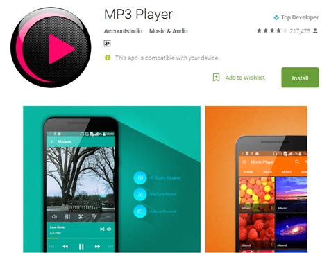 best free player android app top 12 free player apps for android 3d mp3 players