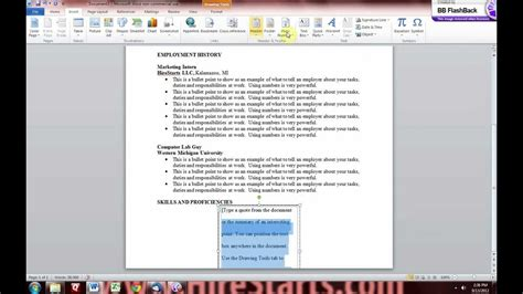 how to make a resume in microsoft word