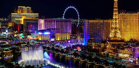 The City Of Lights by Las Vegas The City Of Lights Led Light Guides