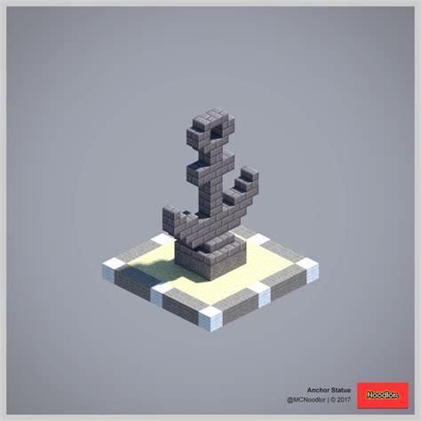 anchor statue minecraftfurniture minecraft idees