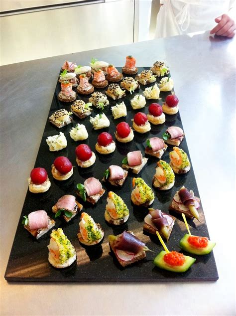 traditional canapes hors d 39 oeuvres platters i like this display 1920s