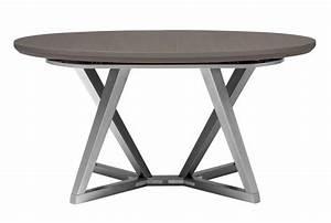 Table Ronde Extensible Pied Central : table ovale tables de repas meubles gautier ~ Teatrodelosmanantiales.com Idées de Décoration