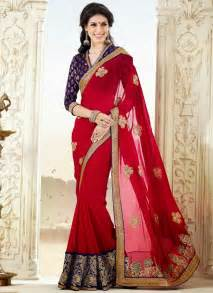saree designs style designer embroidery sarees lovesx3