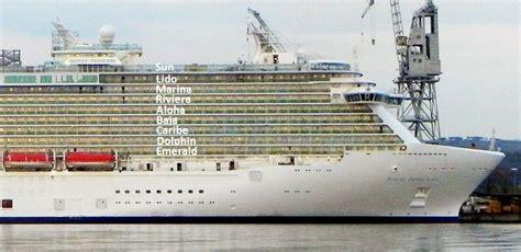 royal princess deck plan side view royal princess forward staterooms cruise critic
