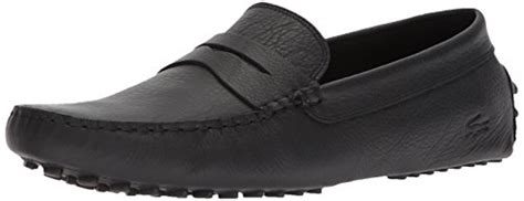 lacoste black penny loafers price compare