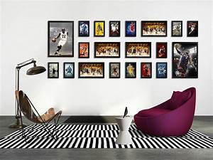 Wall picture frames for living room dgmagnetscom for Interior design wall of frames