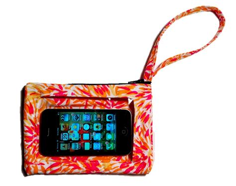 iphone purse purse with a clear iphone outer pocket craziest gadgets