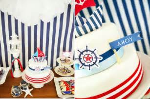 july 4th decorations a preppy nautical birthday party deserts table party