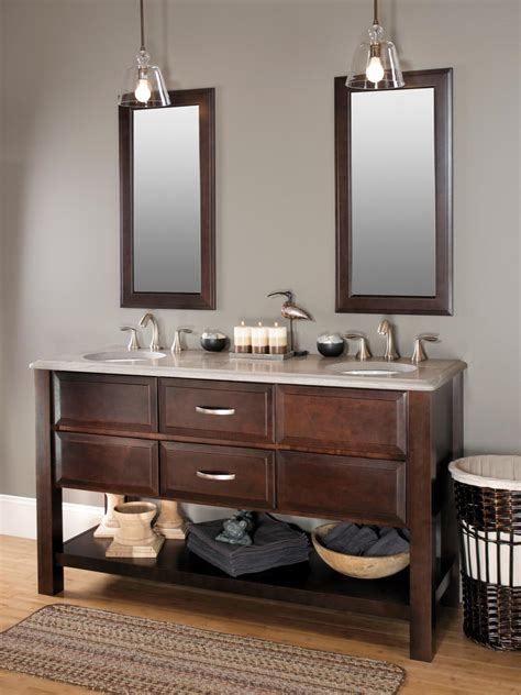 Bathroom Vanities - choosing bathroom cabinets hgtv