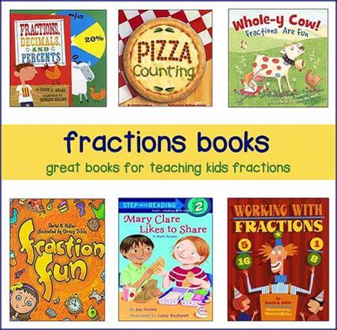 books for fraction lesson plans math themed