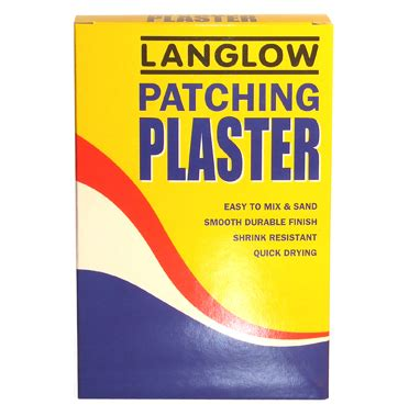 patching plaster palace chemicals ltd