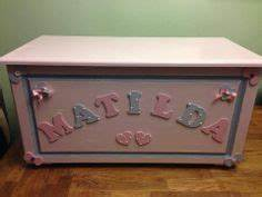 1000 images about baby nursery on pinterest nurseries With wooden letters for toy box