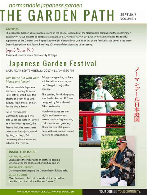 Normandale Japanese Garden Festival 2017 the japanese garden normandale community college