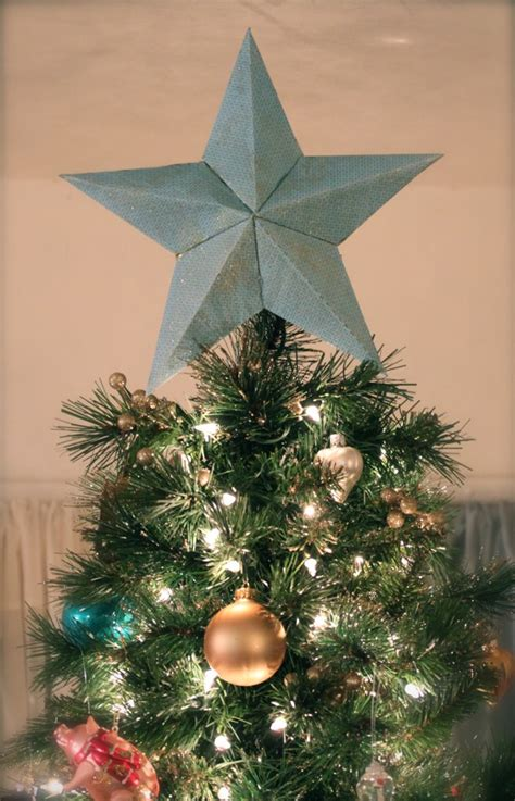 pretty cozy diy tree topper explained