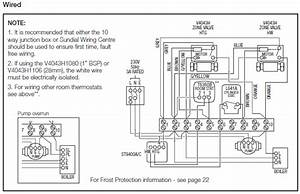 Honeywell S Plan Wiring Diagram