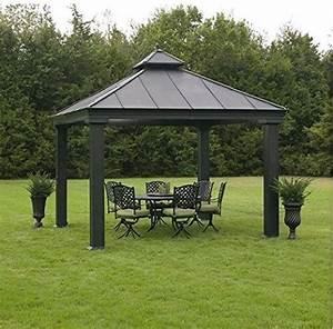Pavillon Metall Wetterfest : 34 metal gazebo ideas to enhance your yard and garden with style ~ Watch28wear.com Haus und Dekorationen
