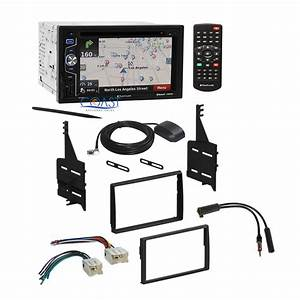 Sony Car Radio Stereo Dash Kit Wire Harness Antenna For 2005