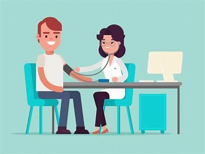 Doctor Hypertension Doctors Pegawai Perubatan Animation Perkhidmatan
