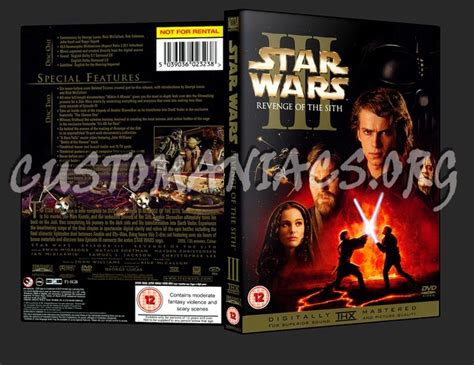 Star Wars Iii Revenge Of The Sith Dvd Cover