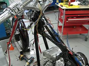 Jh Choppers  2006 Fxsti Efi Chopper Project  Final Assembly