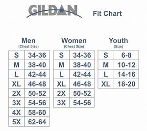Gildan Youth Size Chart Size Chart Lovingmemorystore Com