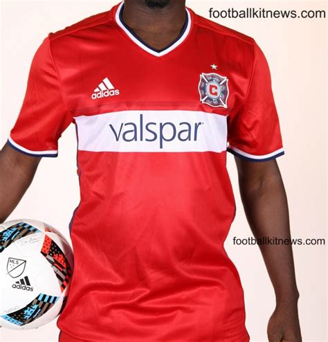 New Chicago Fire Jersey 2016 Adidas Fire Mls Home Kit