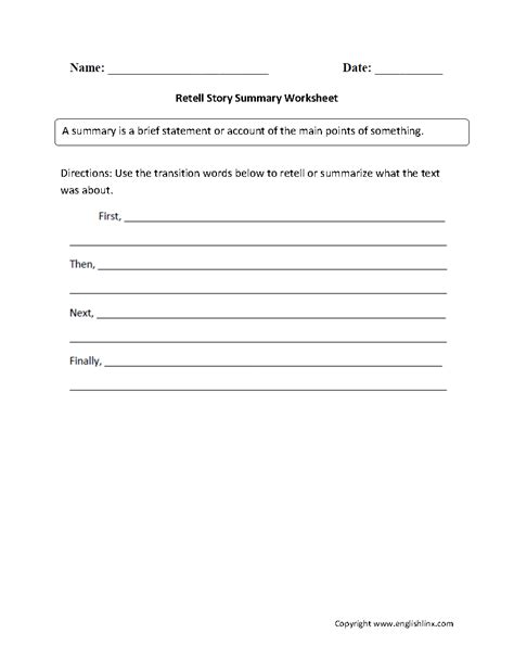 12 best images of reading summary worksheets science