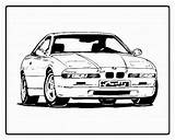Coloring Pages Cars Printable Race sketch template