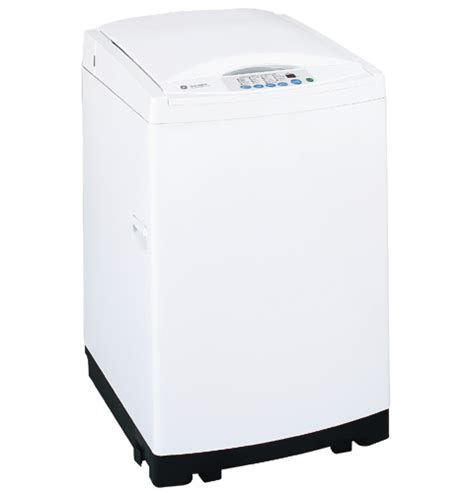 ge spacemaker extra large capacity portable washer  stainless steel basket wslpdww
