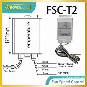 Condenser Fan Speed Control With 2 Temp  Bulb Ensures No
