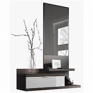 Console Entrée Design : console d entree avec miroir achat vente console d ~ Premium-room.com Idées de Décoration