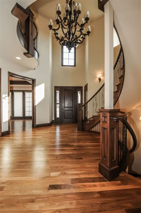 pictures of wood flooring in homes dark wood trim and grey walls love it picmia