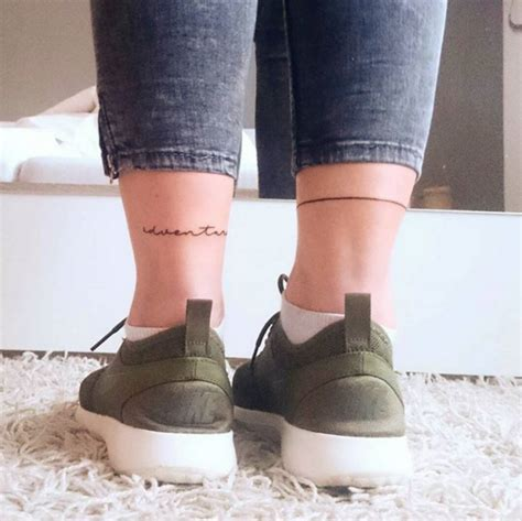 Tatuaggio Interno Caviglia Tatuaggi Caviglia Come Scegliere Il Migliore